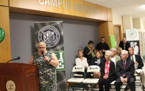 SJA reveals new campus ministry in 'heart of our school'