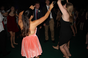 Upperclassmen are transported to galaxy-themed dance
