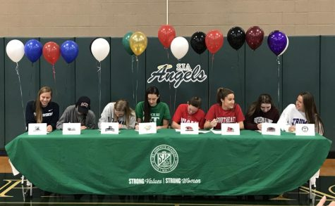 Angels at the National Letter of Intent Signing