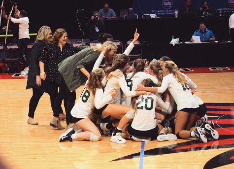 SJA Varsity Volleyball Takes State
