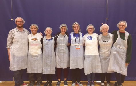 Angels serve on World Food Day