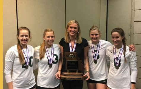 "Katie Richardson Awarded ""Coach of the Year"" for Volleyball"