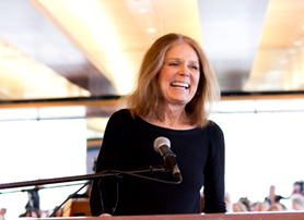 Gloria Steinem is a profound feminist and an advocate for all people