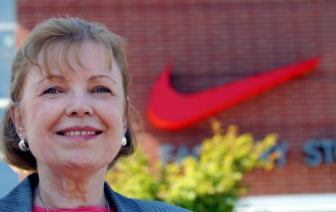 Carolyn Davidson created Nike's iconic 'swoosh' logo in 1971 for Nike.