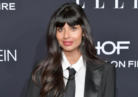 "English-Pakistani actress Jameela Jamil started the ""I Weigh"" movement to combat body shaming."