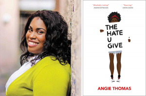 Best-selling author Angie Thomas wrote The Hate U Give to bring attention to racism and police brutality.