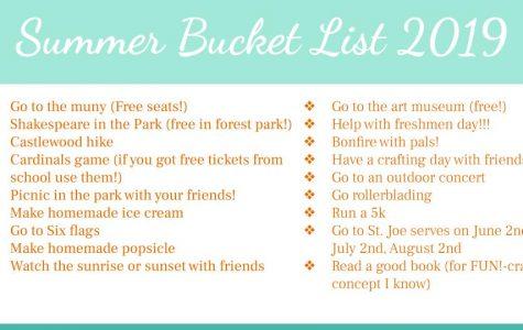Summer Bucket List 2019