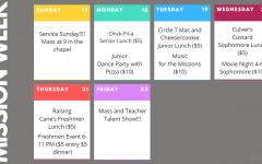 Mission Week 2019 Schedule