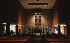 The St. Joe chapel is a great place to connect with God this Lenten season.