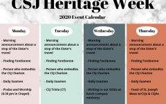 CSJ Heritage Week is through March 9-13. How will you celebrate?