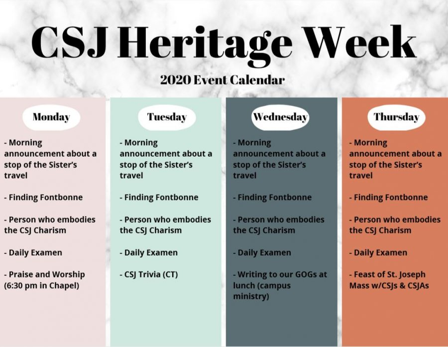 CSJ+Heritage+Week+is+through+March+9-13.+How+will+you+celebrate%3F