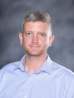Mr. Bob Sullivan is a new teacher in the Fine Arts and Computer Science and Engineering Departments.