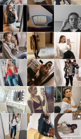 #mirrorpic on Instagram is one reflection of body image in the media.