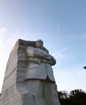 The Martin Luther King Jr. Memorial is found in Washington D.C. to commemorate the civil rights activist.