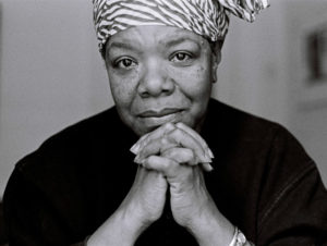 An image of Maya Angelou