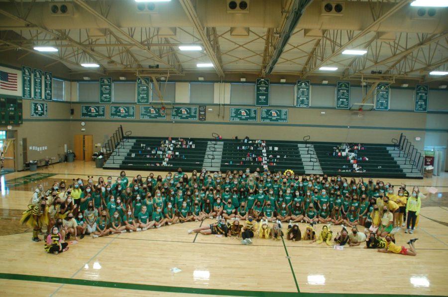 St. Joe's Class of 2025 enjoying their Freshman Day along with their upperclassmen leaders!